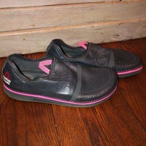 Reebok Nanossage slide on shoes